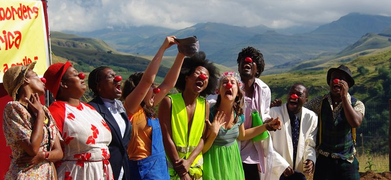 Clowns Without Borders in South Africa