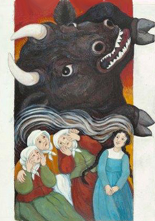 Black Bull of Norroway by Anita Lobel
