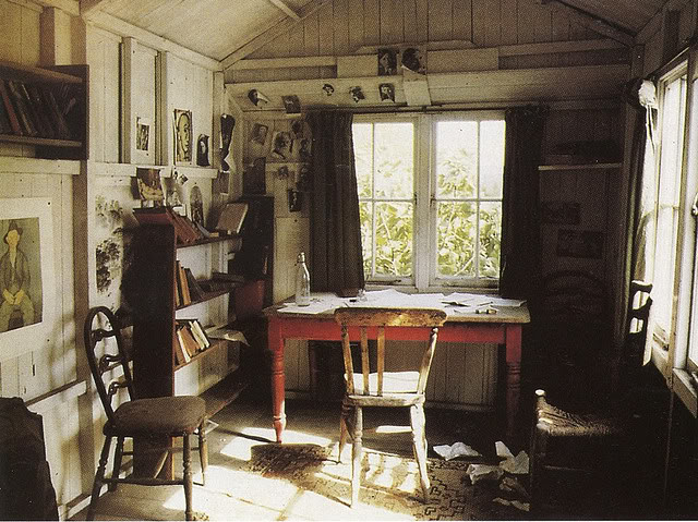 Inside Dylan Thomas' Boathouse