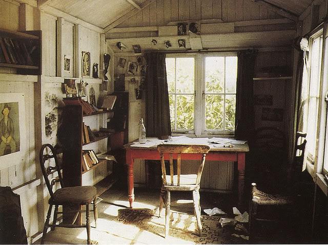 Inside Dylan Thomas' Boathouse