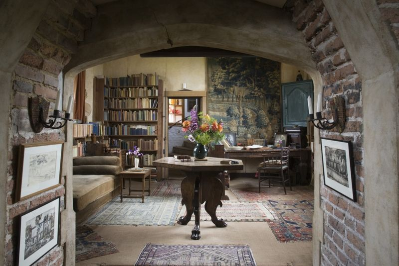 Inside Vita Sackville-West's writing tower