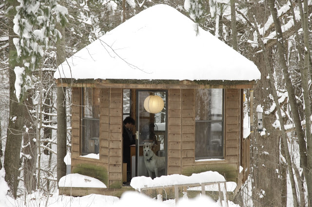 Neil Gaiman's writing gazebo. Minnesota
