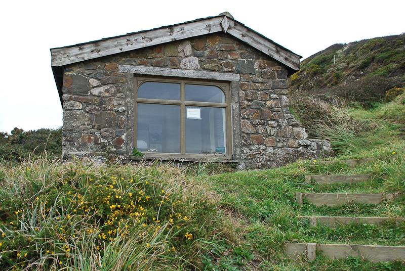 Robert Duncan's writing hut
