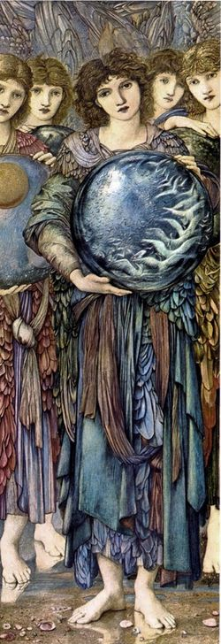 Day 5 by Sir Edward-Burne-Jones
