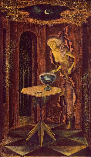 Born Again by Remedios Varo
