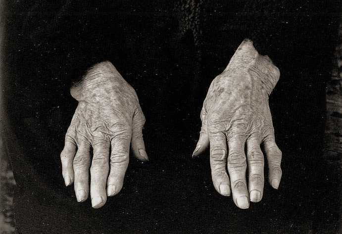 Crofters Hands by Paul Strand