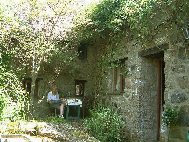 Reading at Weaver's Cottage