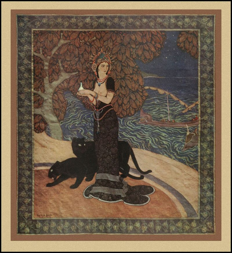 Circe the Enchantress by Edmund Dulac