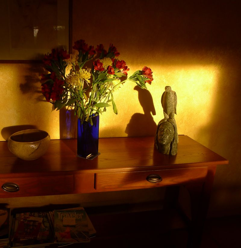 Early evening light in the Common Room
