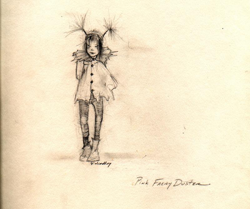 Desert Fairy Duster by T Windling
