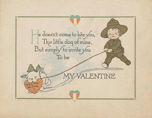 Vintage Valentine, 1919