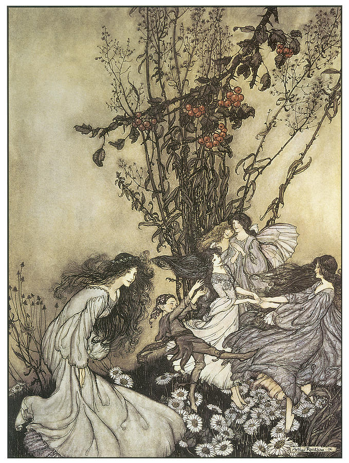 The Fairies in Kensington Gardens by Arthur Rackham