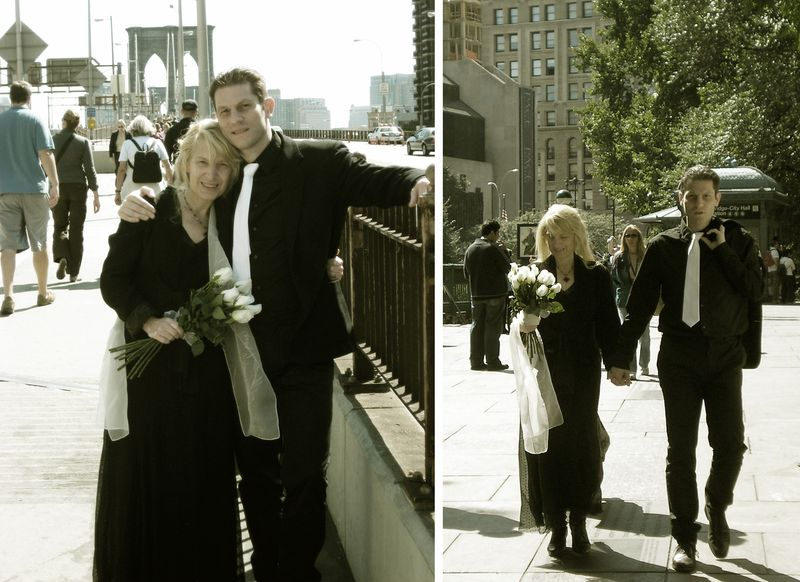 Newly wed in NYC