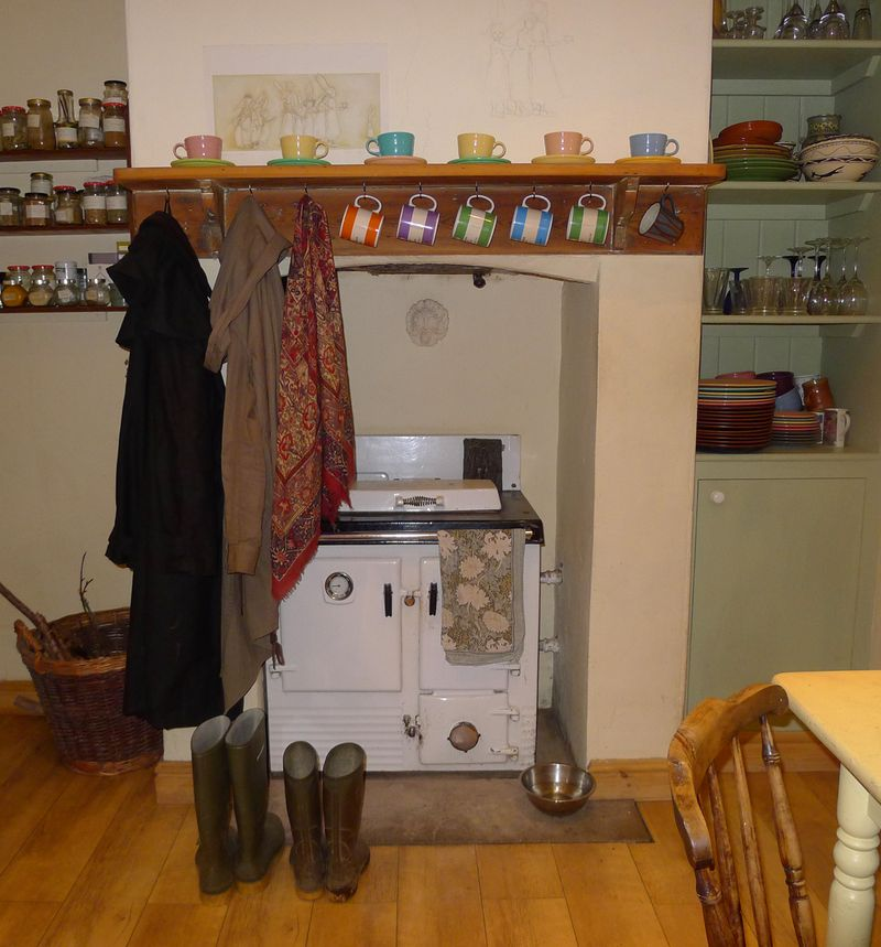 Kitchen hearth