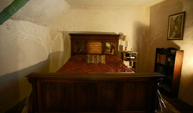Woodland bedroom, 1
