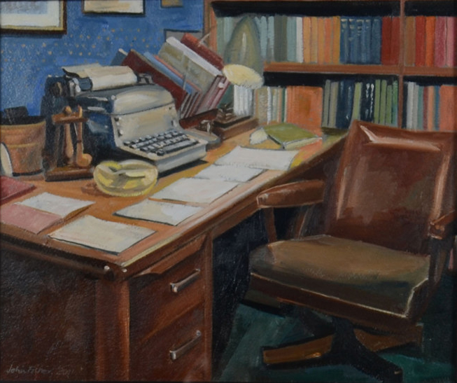 P.G. Wodehouse's Desk by John Fisher