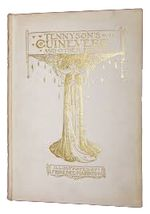 Cover illustration for Tennyson's Guinevere by Florence Harrison