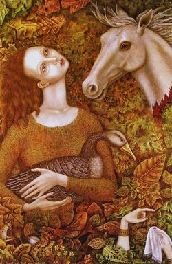 The Goose Girl by Gina Litherland