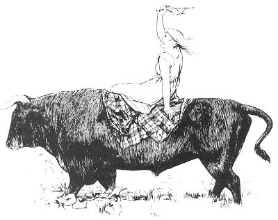 The Black Bull of Norroway by John D. Batten