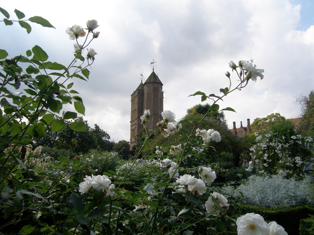 Vita Sackville-West's writing tower at Sissinghurst Castle