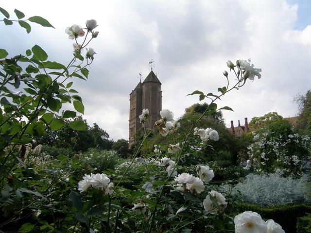 Vita Sackville-West's writing tower at Sissinghurst Castle