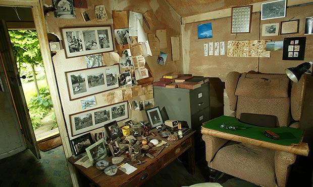 Inside Roald Dahl's writing hut