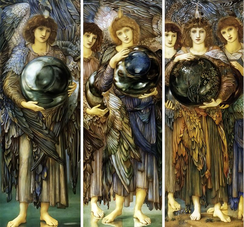 The Days of Creation by Sir Edward-Burne-Jones