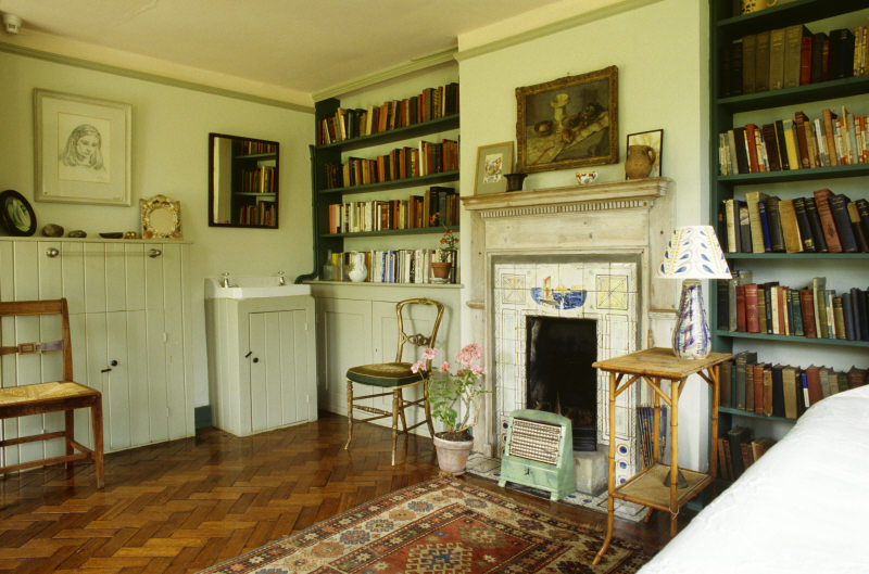 Virgina Woolf's bedroom