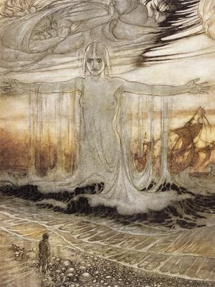 Goddess of the Sea by Arthur Rachkam