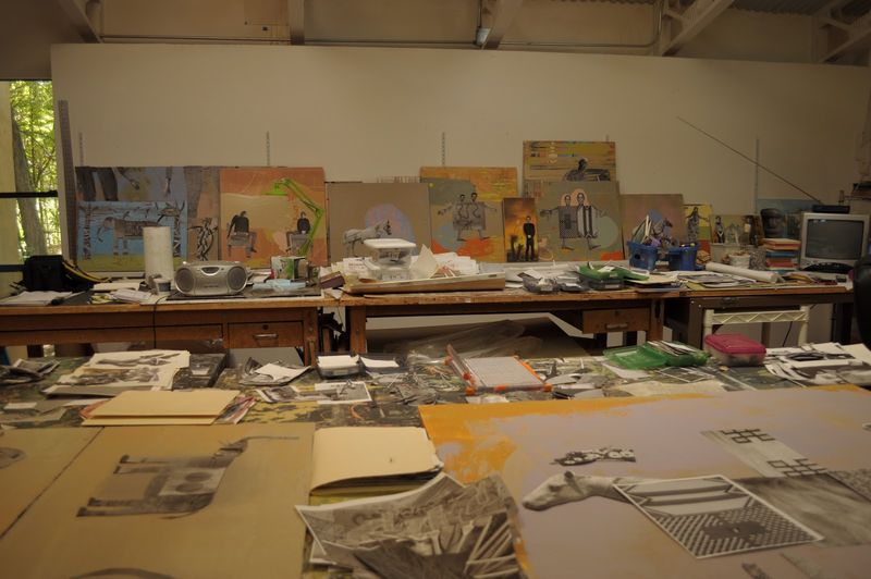 Holly Robert's studio