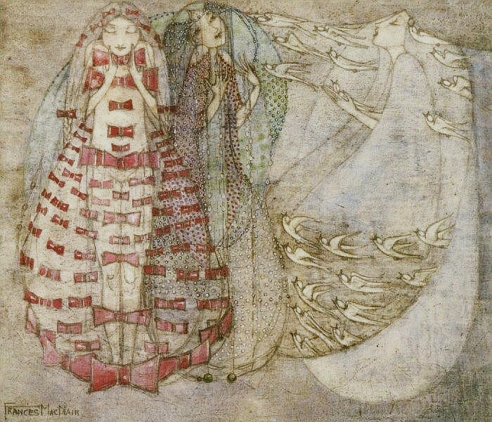 Bows, Beads and Birds by Frances MacDonald MacNair