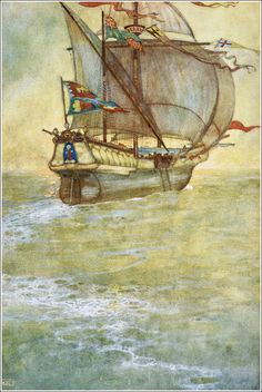Treasure Island by Edmund Dulac
