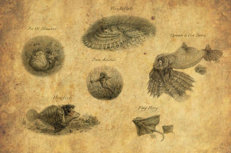 Merfolk by Virginia Lee