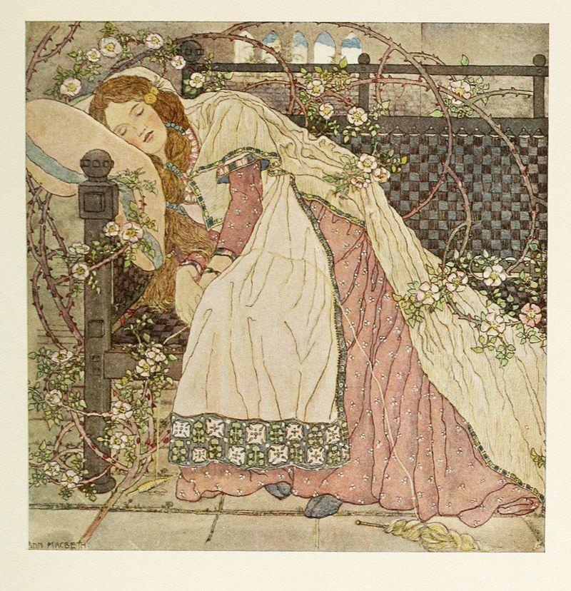 Sleeping Beauty by Ann Macbeth