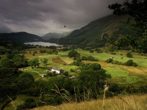 Valley of Nant Gwynant, Wales, from National Geographic