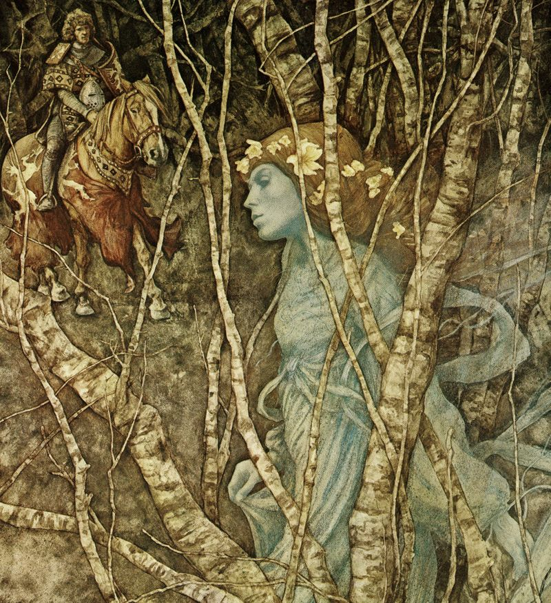 The Elfin Maid by Brian Froud