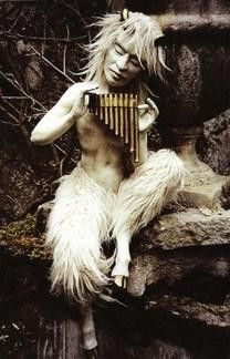 Pan, a sculpture by Wendy Froud