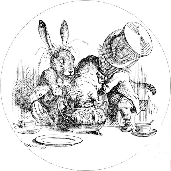 The March Hare by John Tenniel