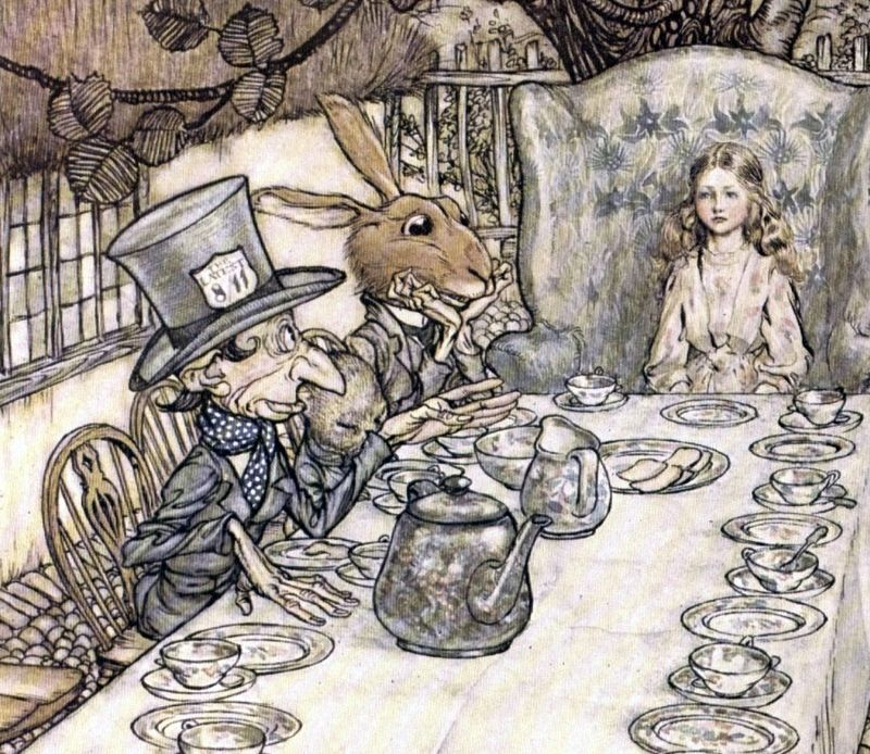 The March Hare from Alice in Wonderland
