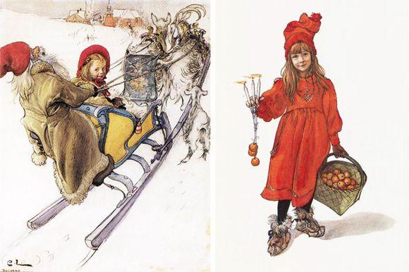Carl Larsson's Christmas