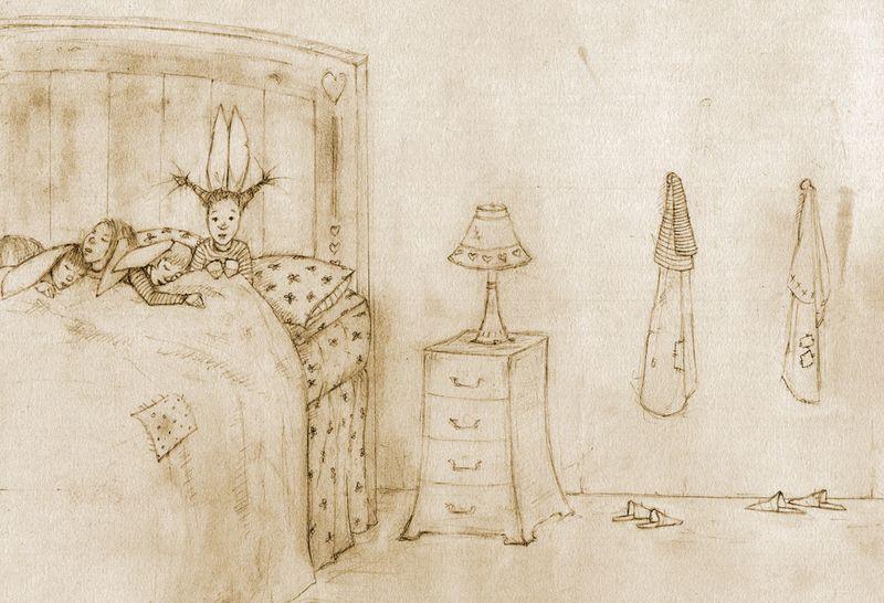 Bunny Bedroom by Terri Windling