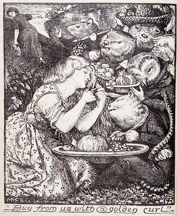 Goblin Fruit by Dante Gabriel Rossetti,