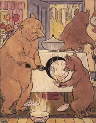 The Three Bears by L. Leslie Brooke