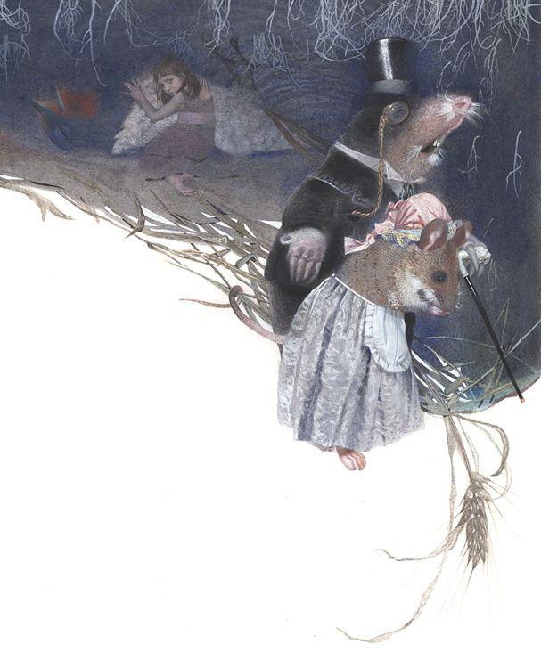Thumbelina by by Nadezhda Illarionova