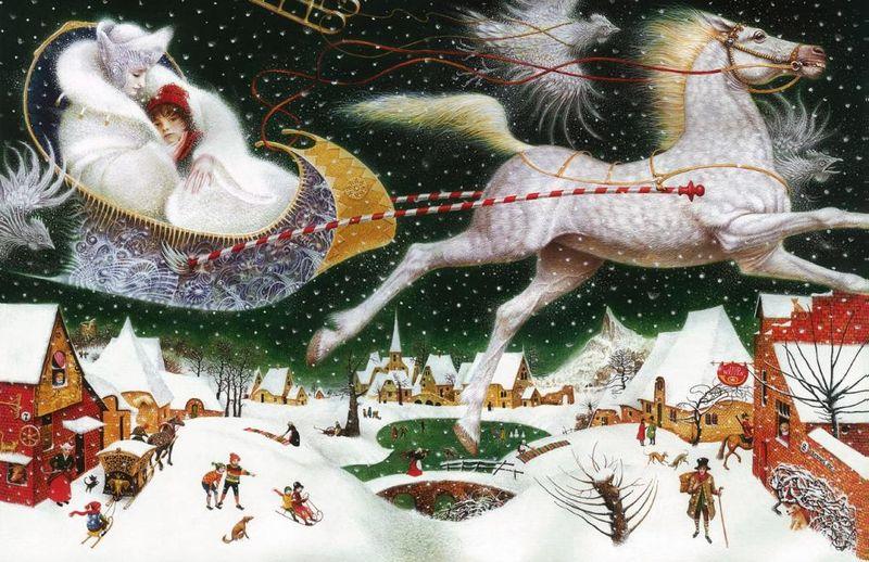 Hans Christian Andersen's The Snow Queen illustrated by Vladislav Erko