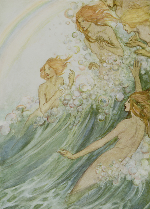 Sea Fairies by Florence Harrison