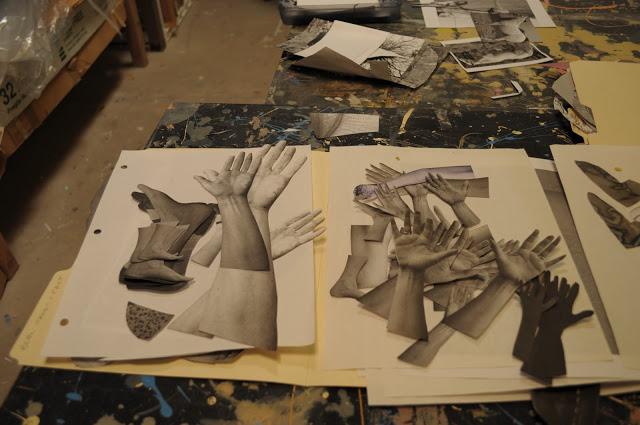 Holly Robert's studio