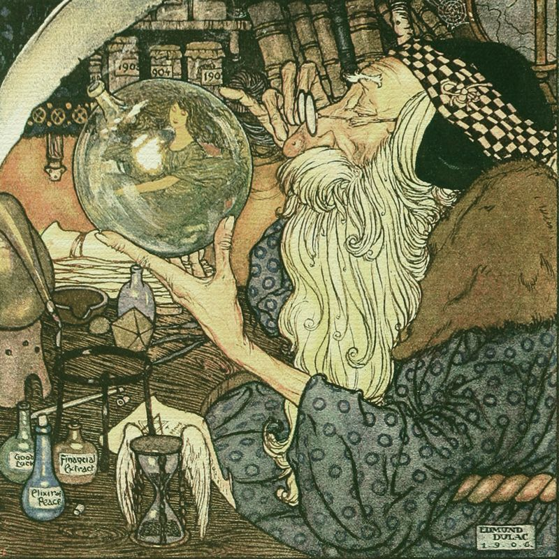 Father Time by Edmund Dulac2