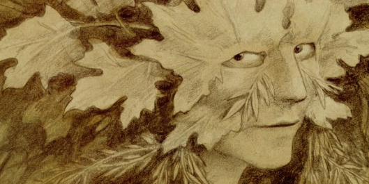 Leaf Mask by Brian Froud