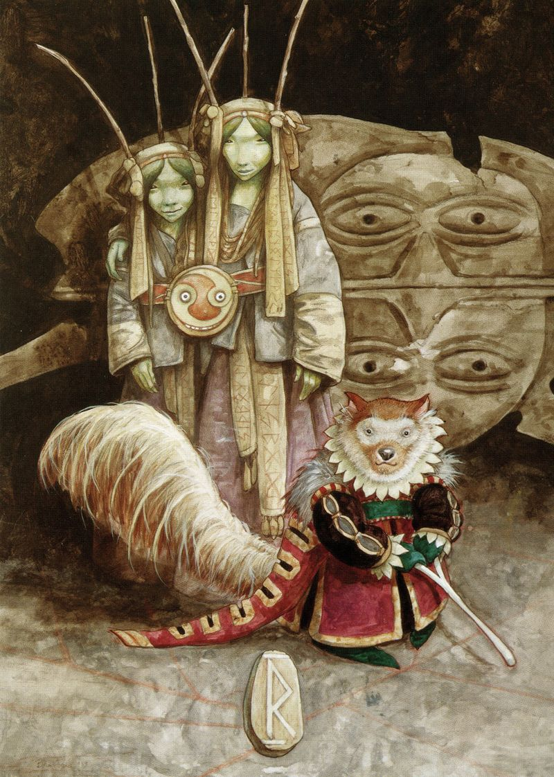 The Rune of Journeys by Brian Froud